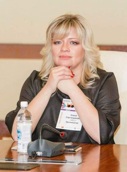 Chairman of the organizing committee of international trade congresses Elena Sargaldakova